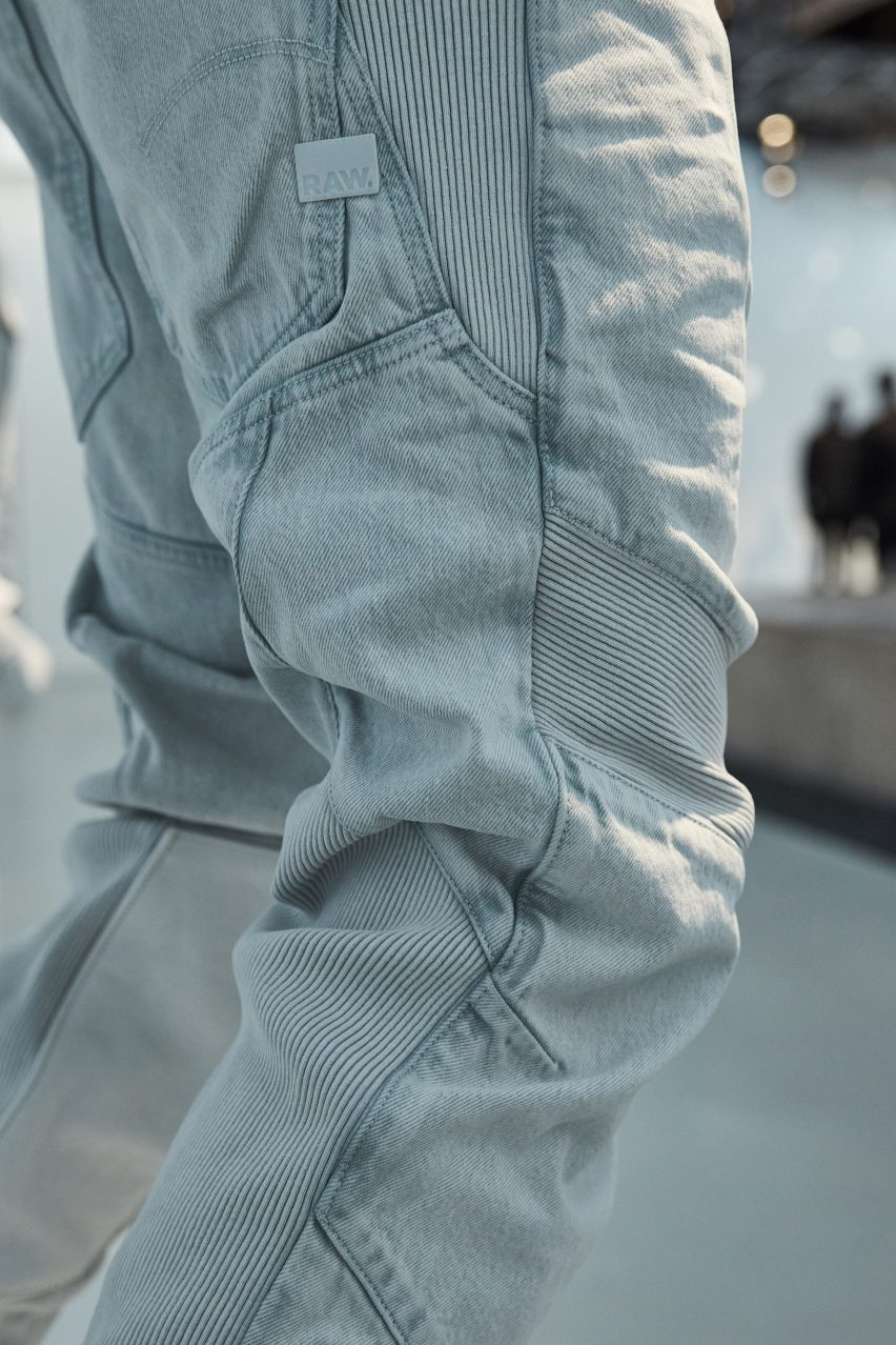 5c05650a21b0e Aitor Throup presents first collection as G-Star RAW creative director