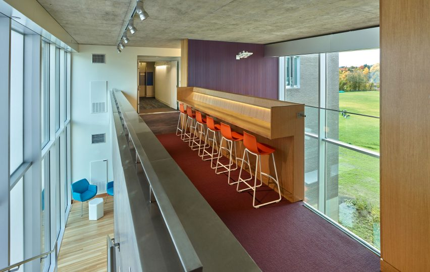 Amherst College Greenway Residences by Kyu Sung Woo Architects
