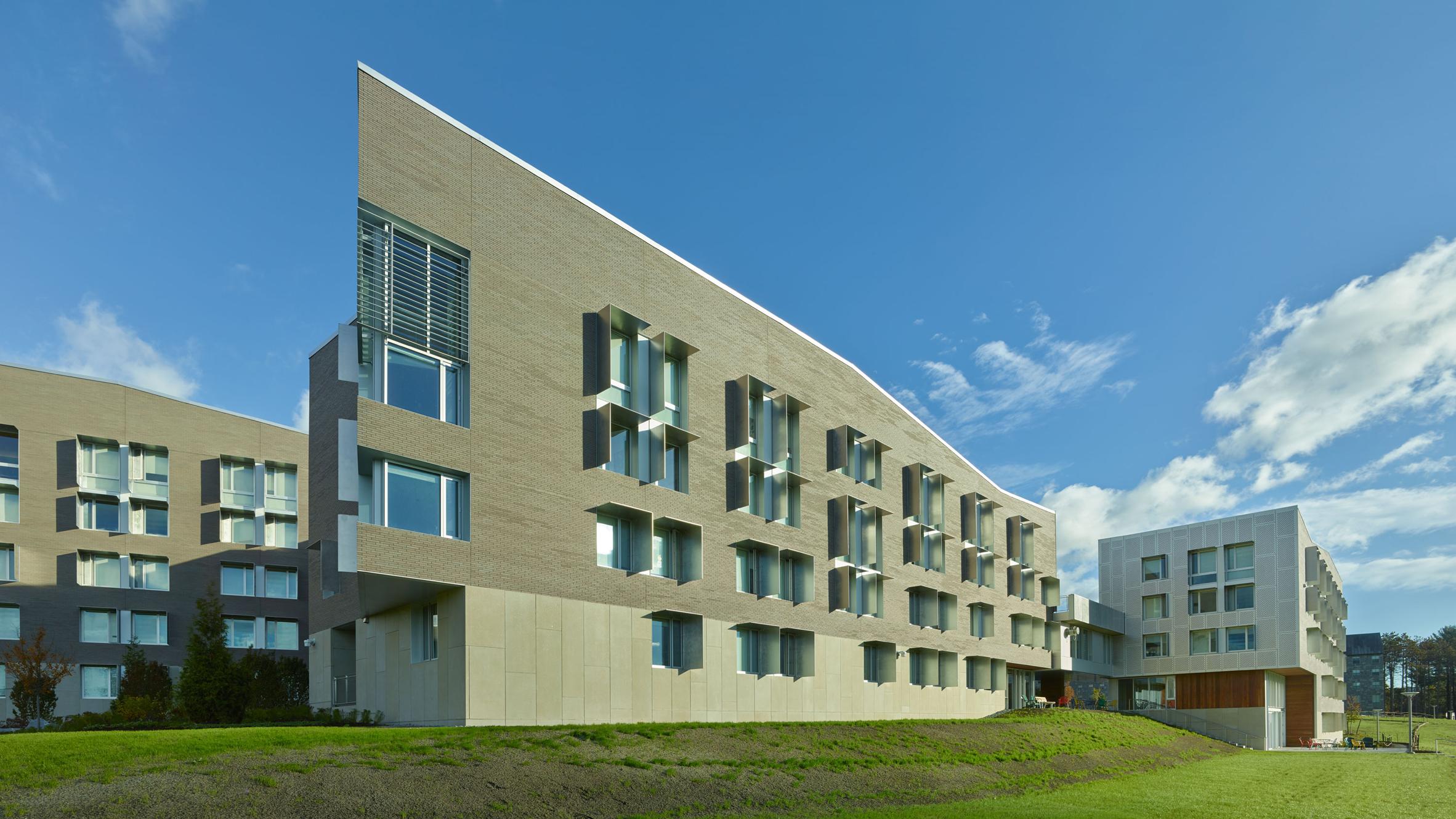 kyu sung woo designs student housing for historic massachusetts