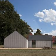 Adam Kane adds gabled artist's studio and gallery to Australian home