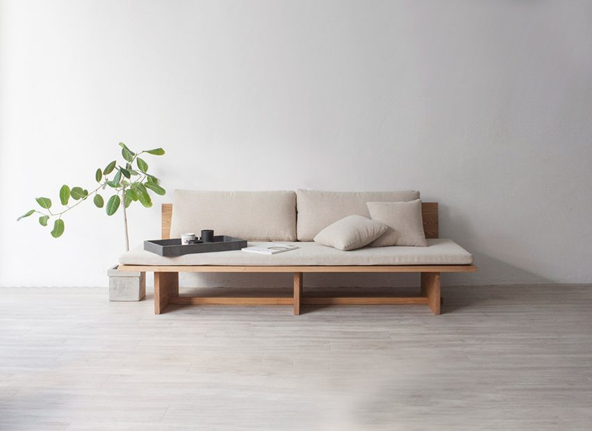 blank daybed sofa cho hyung suk design studio. Hyung Suk Cho updates traditional Korean elements for Blank daybed