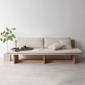 Simple Hyung Suk Cho updates traditional Korean elements for Blank daybed