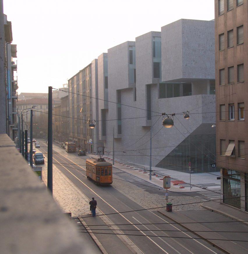 Universita Luigi Bocconi School of Economics; Milan, Italy, 2008, by Grafton Architects