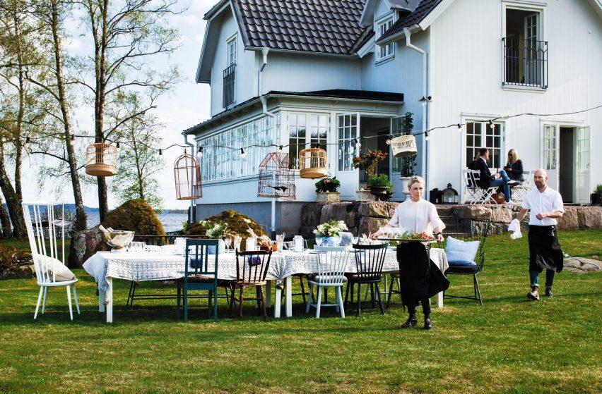 Bolon's Lake House in Ulricehamn, Sweden