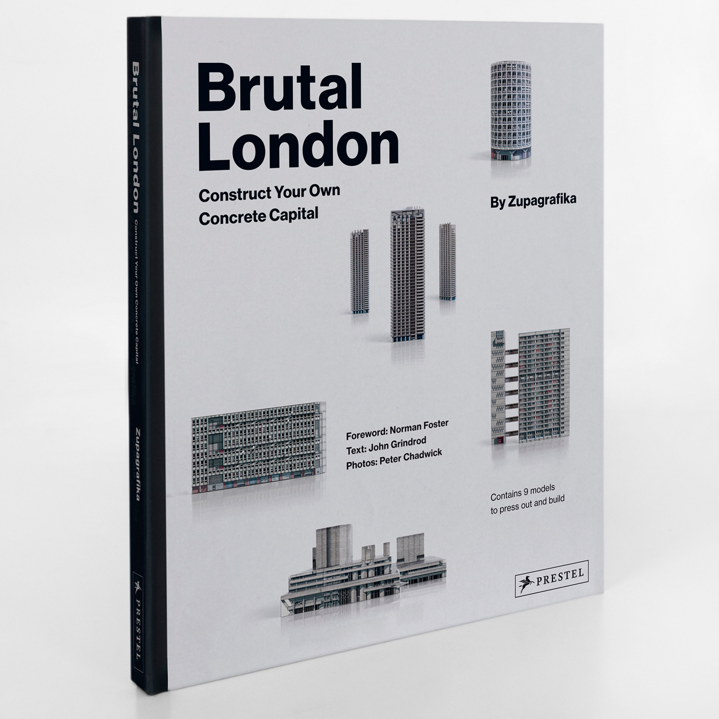 Competition: win a book filled with pull-out models of London's brutalist buildings