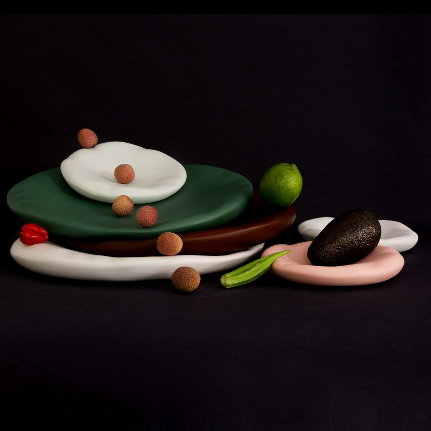 Canova tableware by Constance Guisset for Moustache