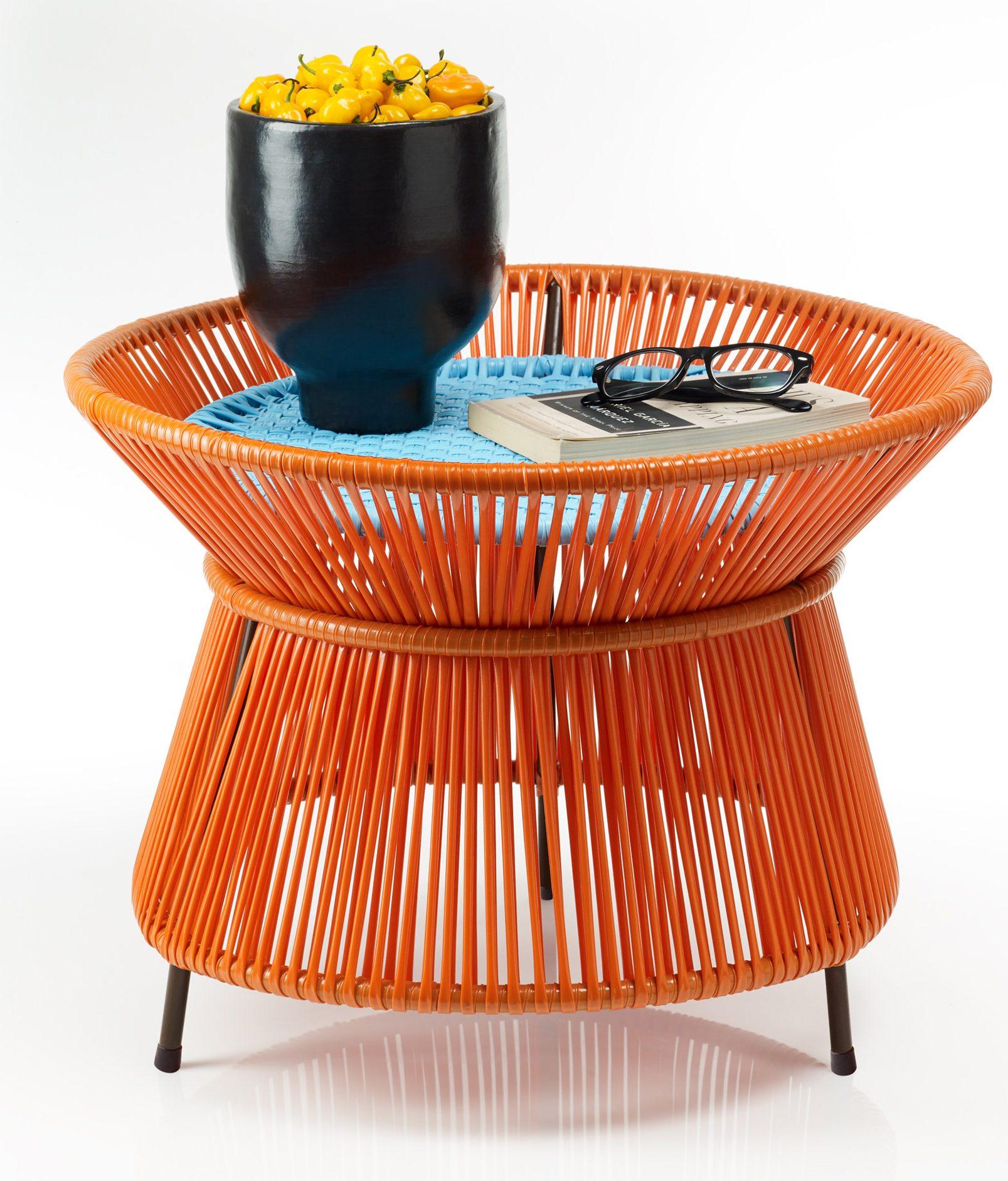 Sebastian Herkner uses traditional Colombian weaving technique for Caribe furniture