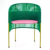 Sebastian Herkner uses traditional Colombian weaving technique for Caribe furniture