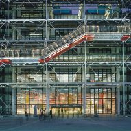 Renzo Piano and Richard Rogers share Centre Pompidou photographs on 40th anniversary