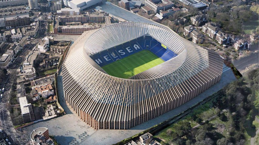 Chelsea Stadium by Herzog & de Meuron
