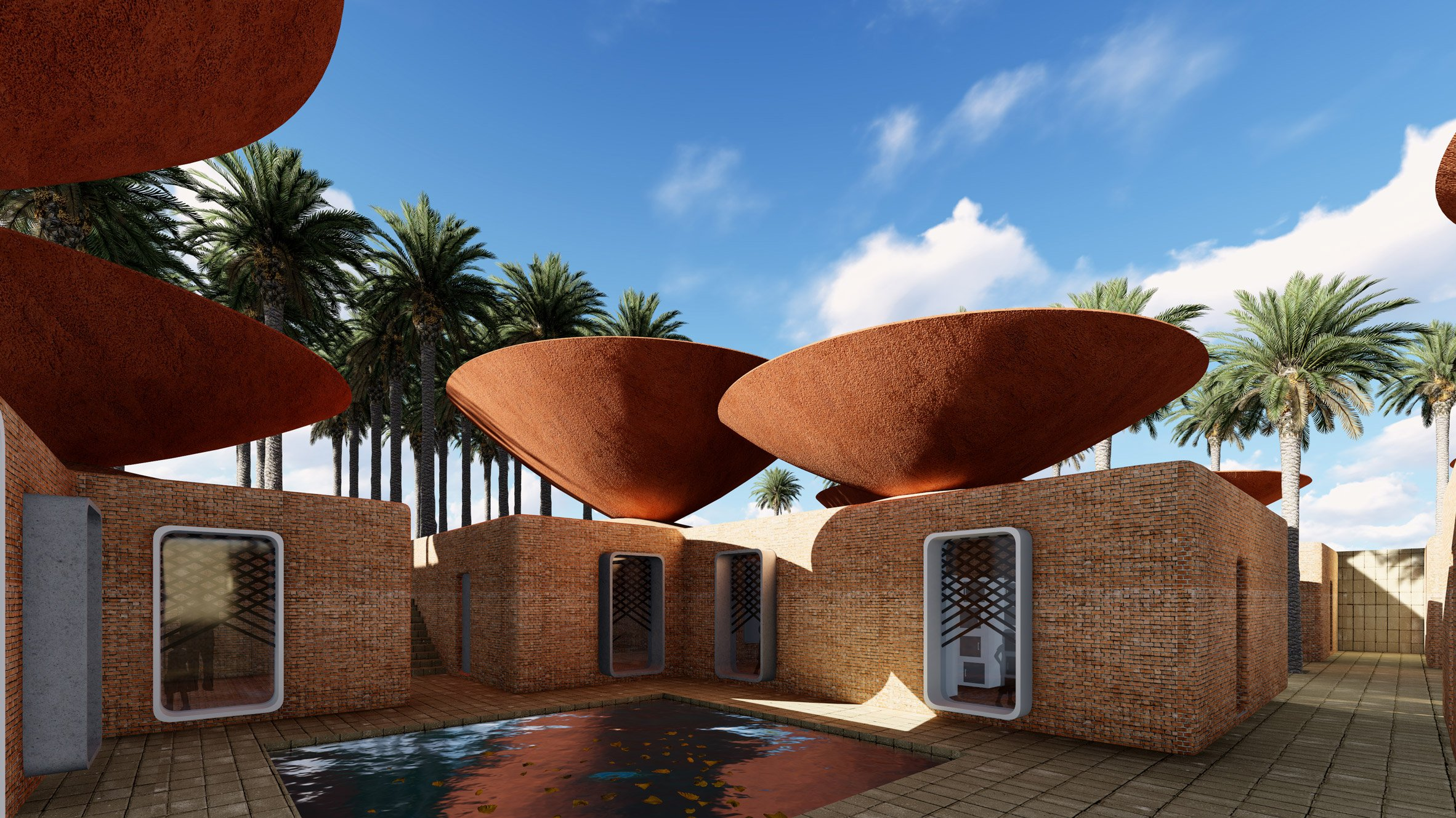 Concave roof by BMDesign Studios