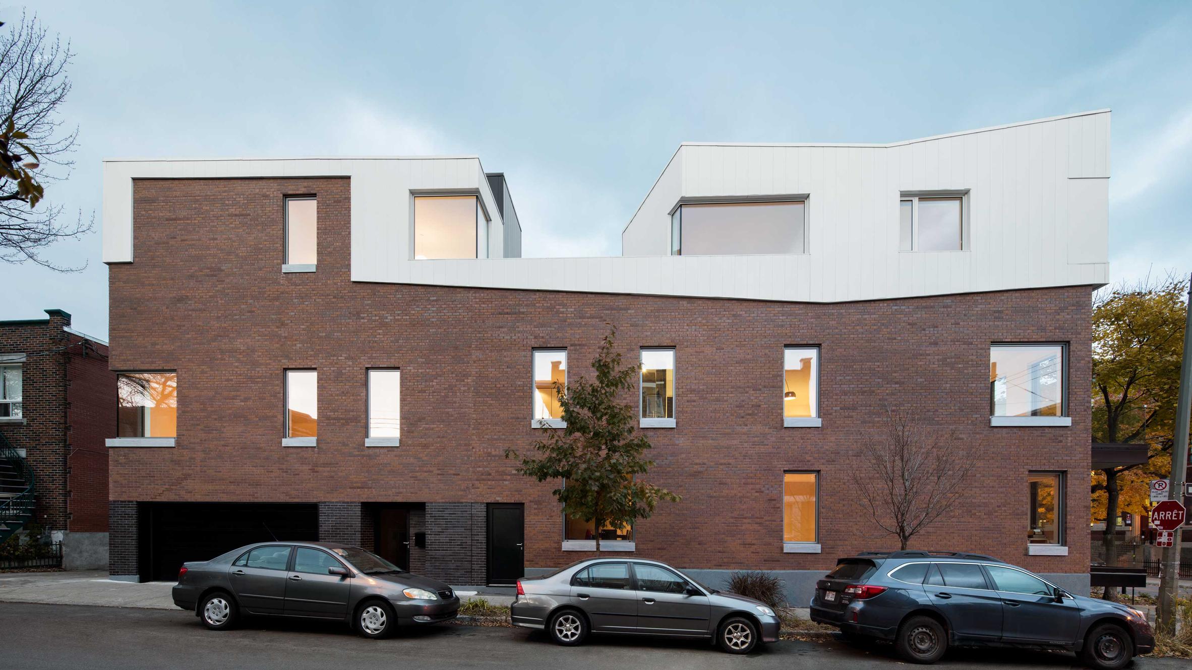 Dandurand residences by naturehumaine