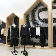 Dover Street Market New York refreshes displays using bold prints and raw materials