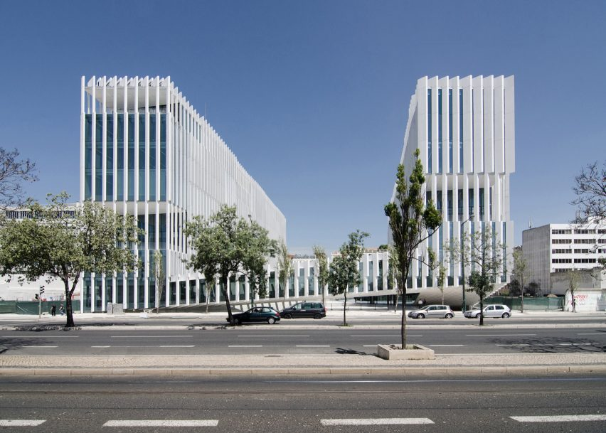 EDP Headquarters, Lison, by Aires Mateus