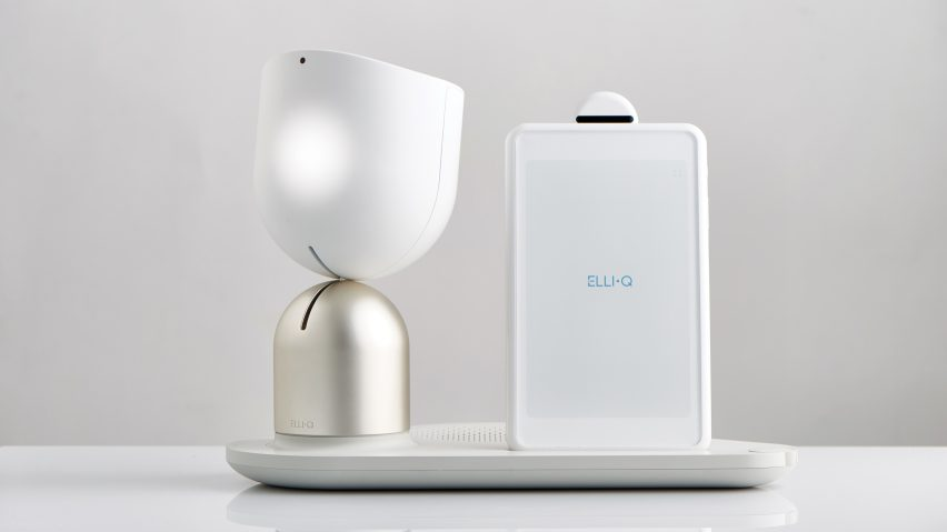 EMBARGOED ElliQ by Yves Behar and Fuseproject