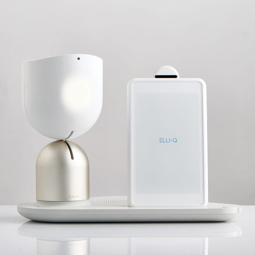 EMBARGOED ElliQ by Yves Behar and Fuseproject