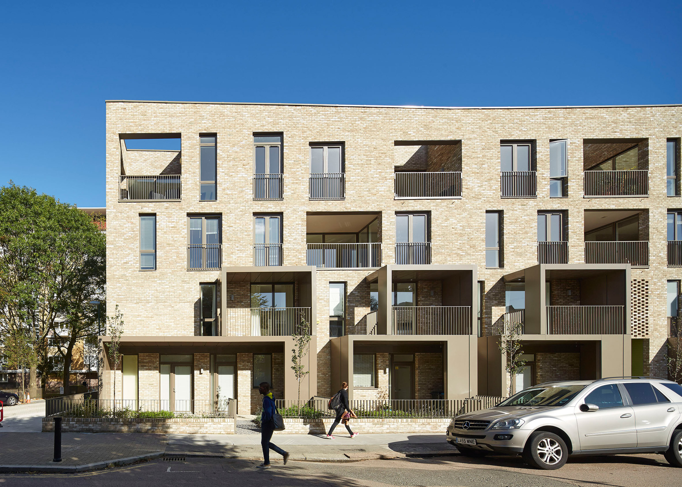 Ely Court, London, by Alison Brooks Architects