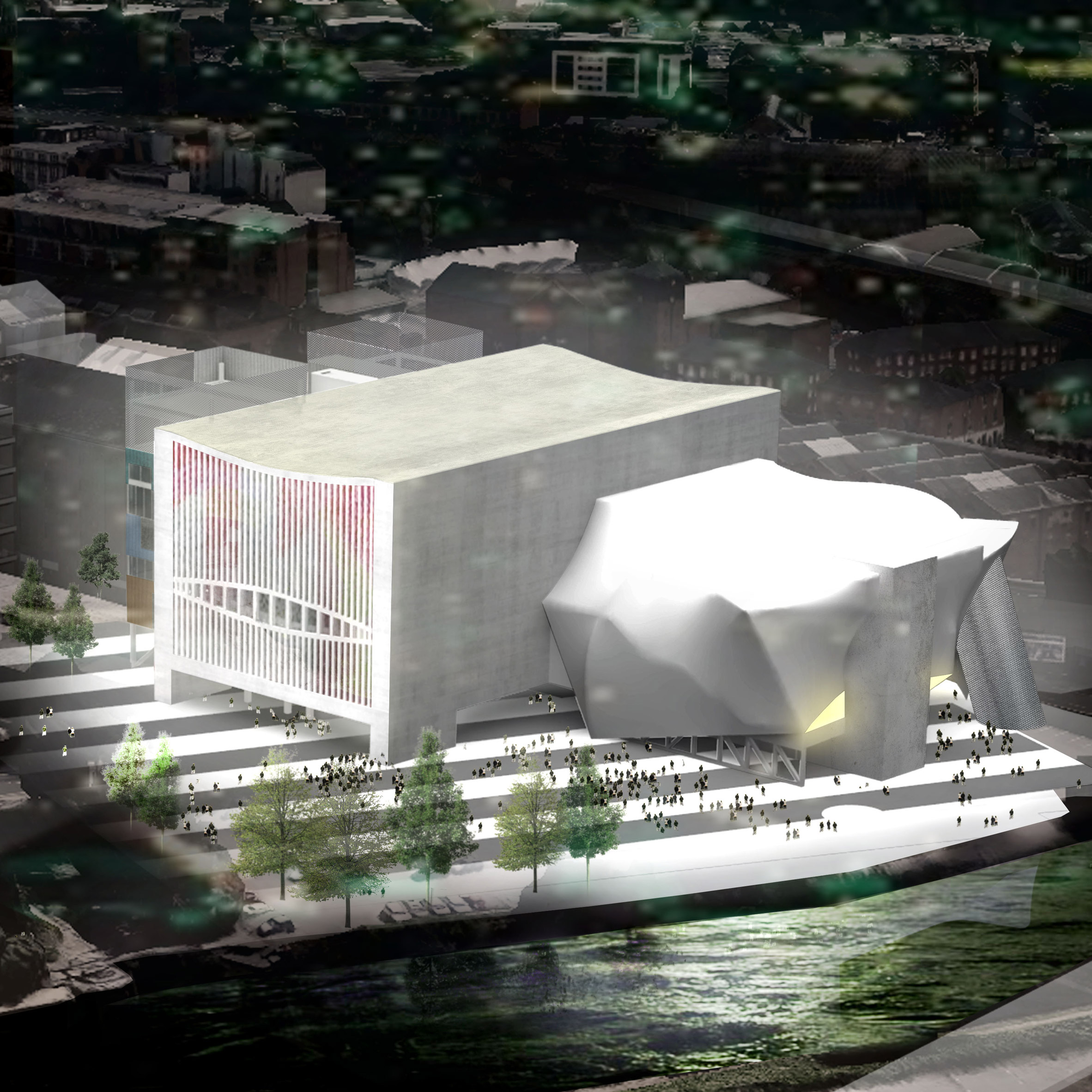 Awesome OMA Gets Green Light For £110 Million Arts Centre In Manchester
