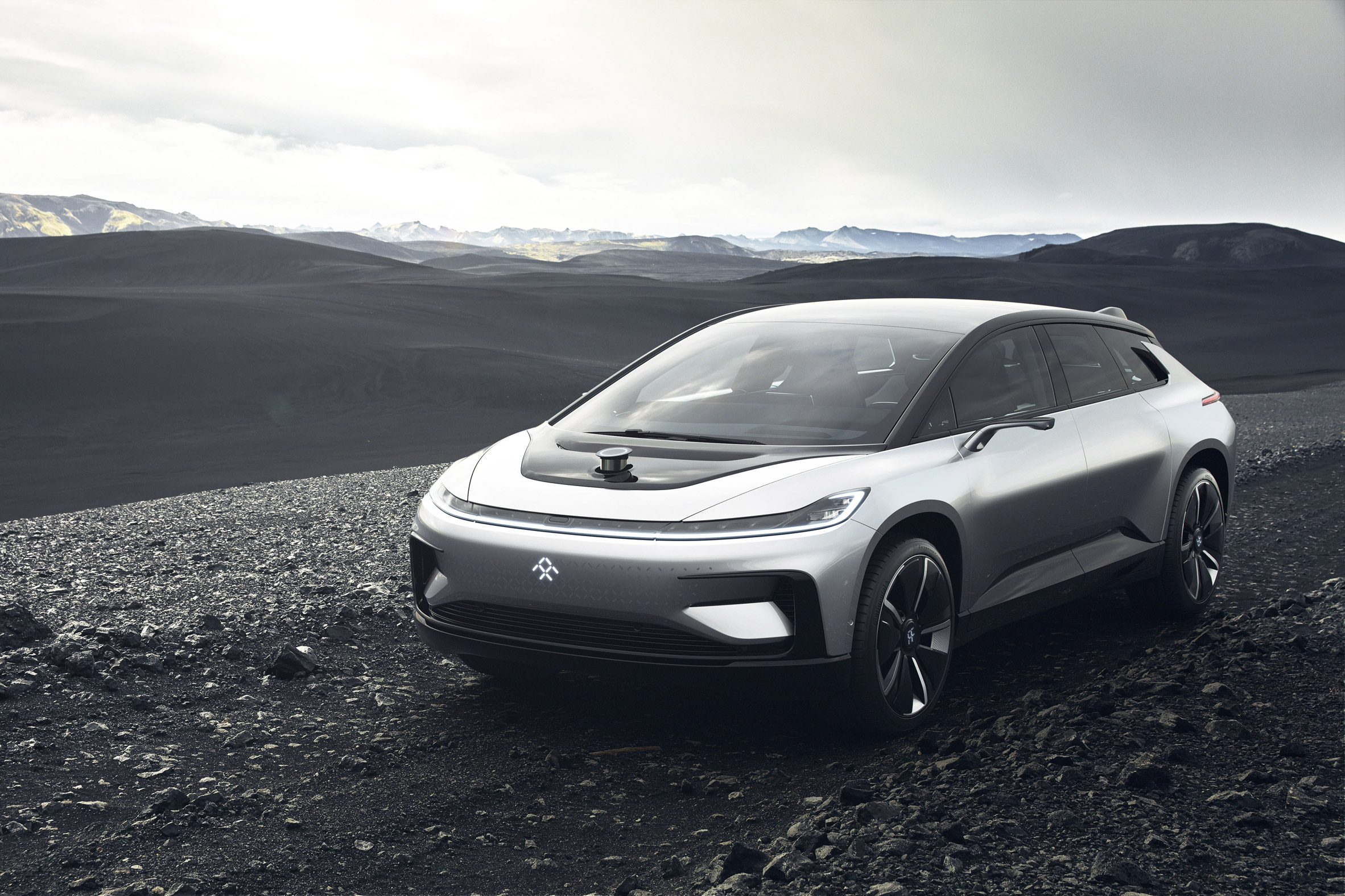 "Faraday Future unveils electric car to rival Tesla's ? but its ""driverless valet"" malfunctions during CES demo"