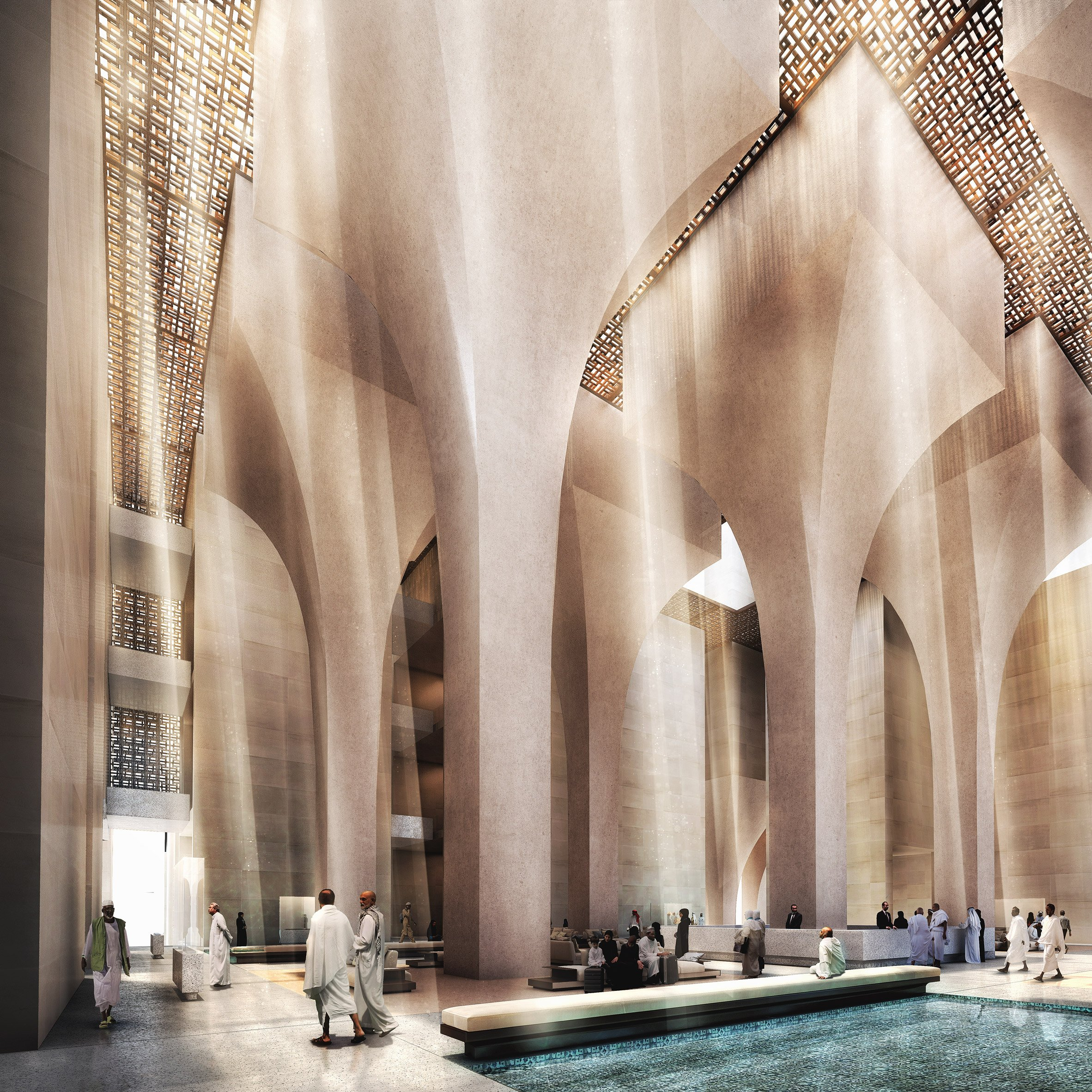 Foster Partners Reveals Cascading Tower Complex For Mecca Pilgrims