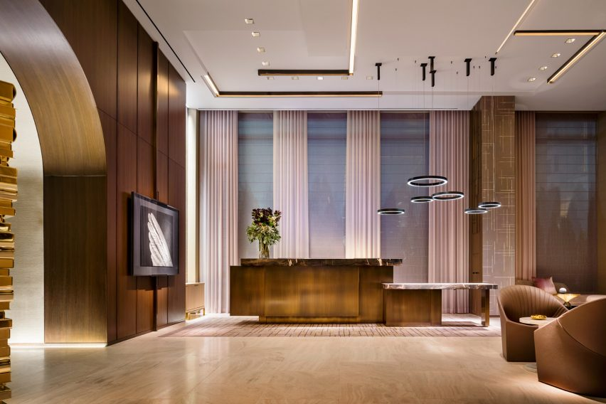 Four Seasons Downtown by Yabu Pushelberg