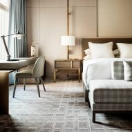Yabu Pushelberg pairs warm wood and muted hues at Four Seasons Downtown New York