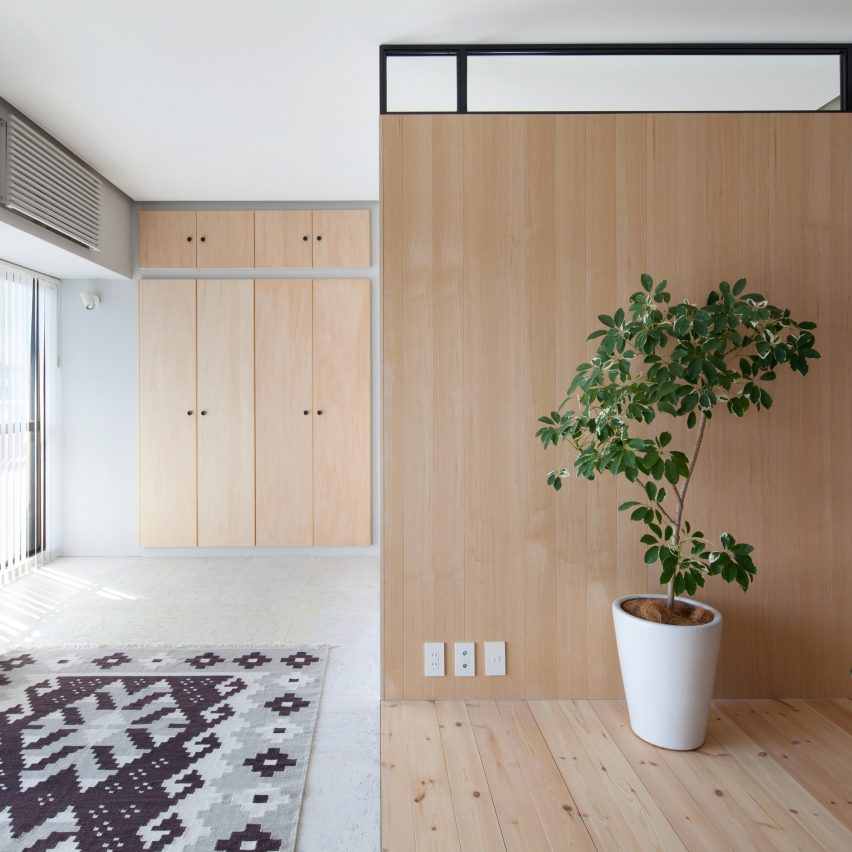 10 Home Interiors Featuring Partition Walls From Dezeenu0027s Pinterest Boards