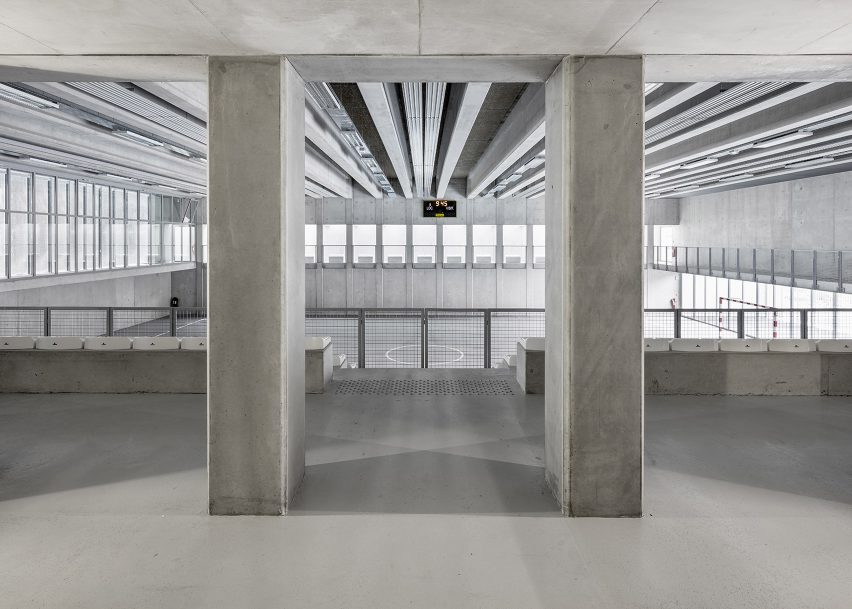 Ariane futsal sports complex, Nice, by CAB Architectes