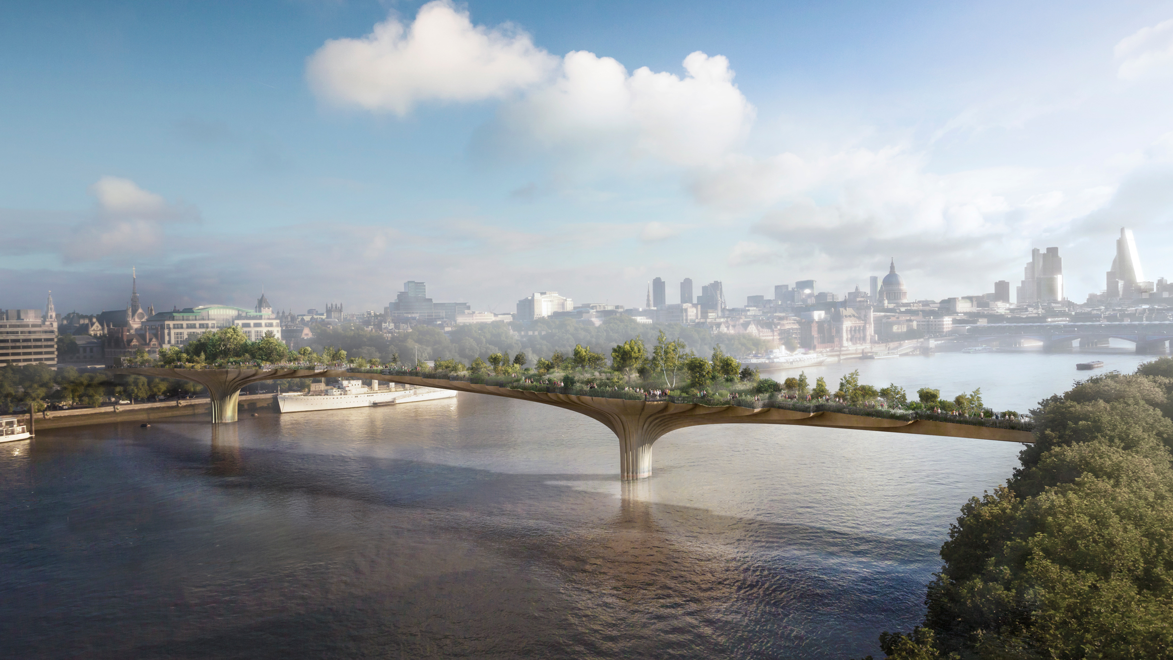 garden bridge should be ditched finds financial inquiry