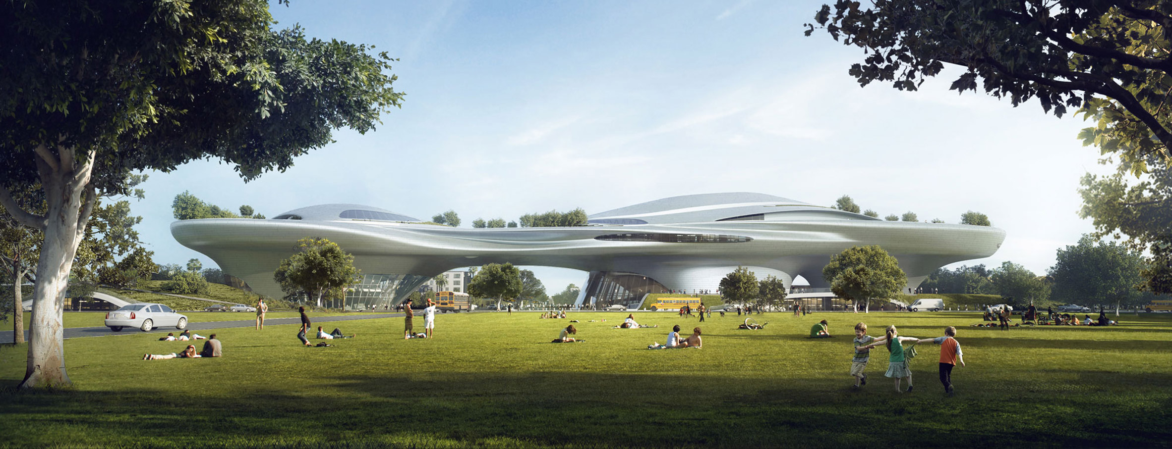 MAD's George Lucas Museum will be built in Los Angeles