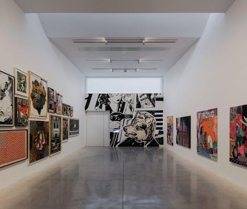 Gordon Gallery II by Gottesman-Szmelcman Architecture