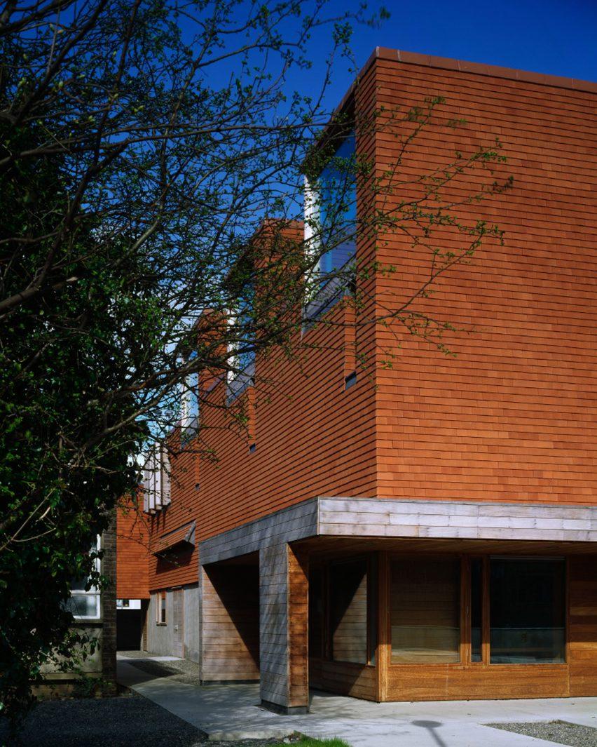 Urban Institute of Ireland; University College Dublin, Ireland, 2002, by Universita Luigi Bocconi School of Economics; Milan, Italy, 2008, by Grafton Architects