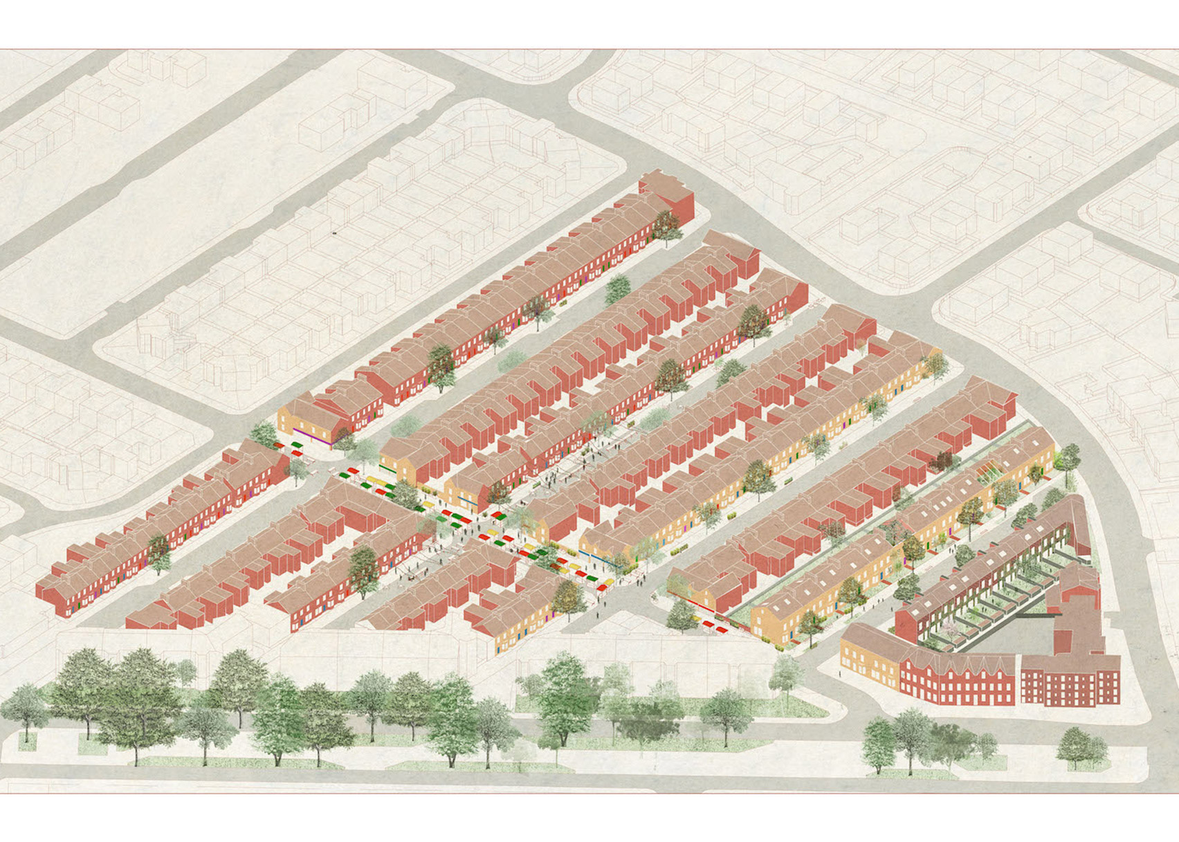 Granby Four Streets, Liverpool, by Assemble