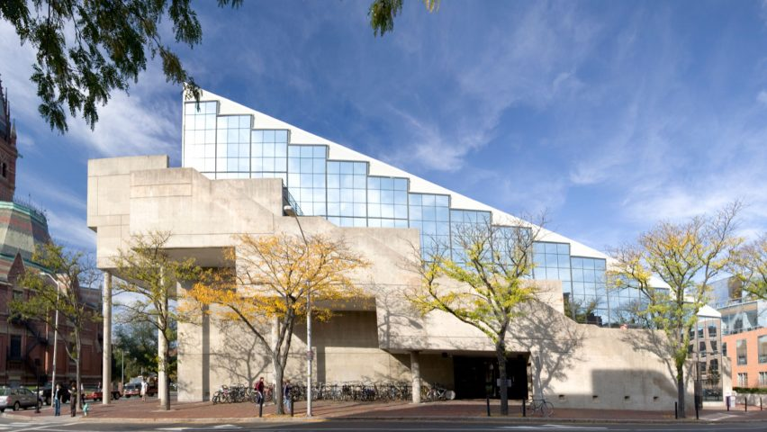 Perfect Gund Hall, Harvard Graduate School Of Design. Photograph By Peter  Vanderwarker