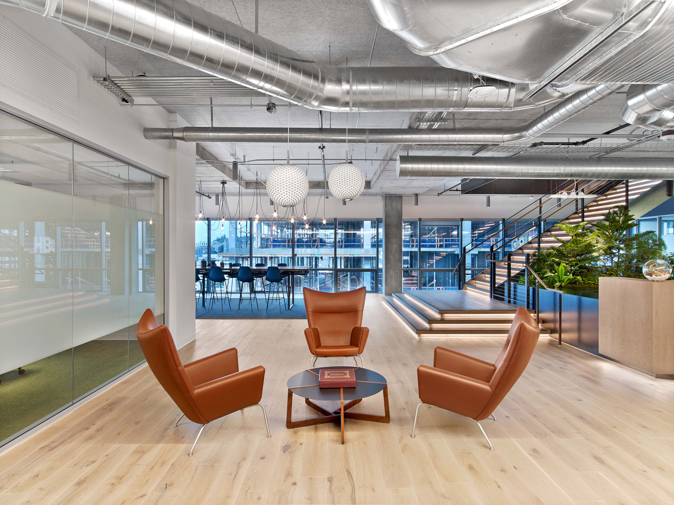 """Rapt Studio designs office space to allow HBO to """"reimagine entertainment"""""""