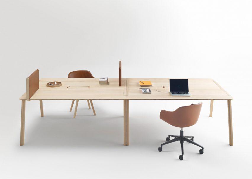 Heldu table by Iratzoki Lizaso