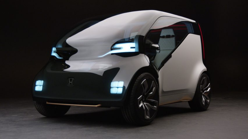 Honda Unveils Ride Sharing Car Concept With An Emotion Engine