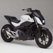 CES: Honda self-balancing motorcycle