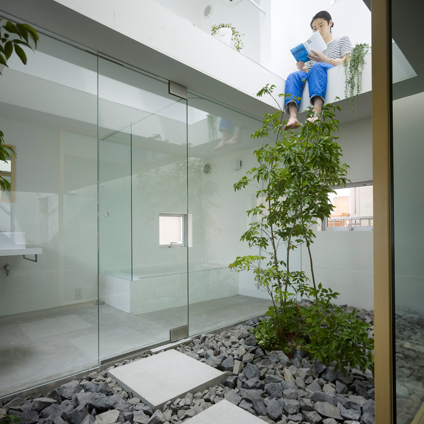 10 plant-filled homes from Dezeen's Pinterest boards that bring the outside in