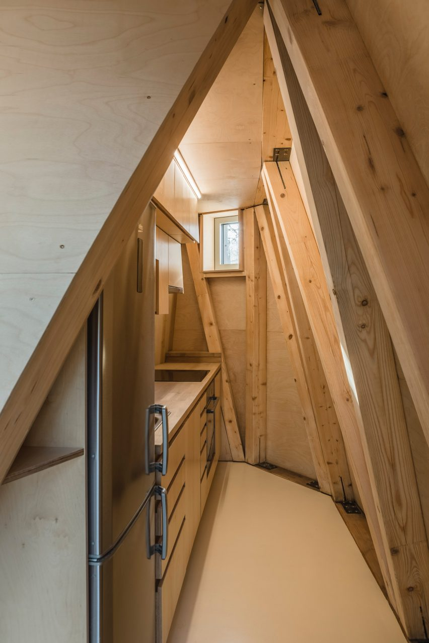 Given The Steeply Sloped Site, The Architects Raised The Residence Above  Ground By A Reinforced Concrete Pillar. The Elevated Position Also Makes  The Most ...