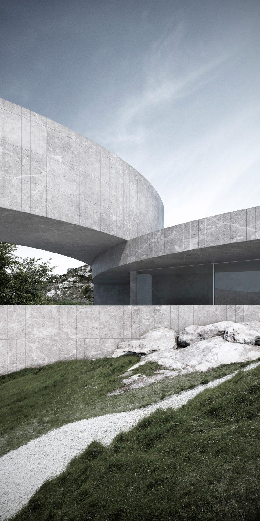 House of Seven gardens by Fran Silvestre Arquitectos