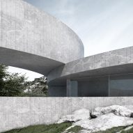 Sinuous buildings curve around tiered gardens in housing concept by Fran Silvestre Arquitectos