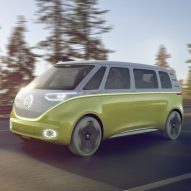 Volkswagen unveils self-driving electric version of its 1960s VW Microbus