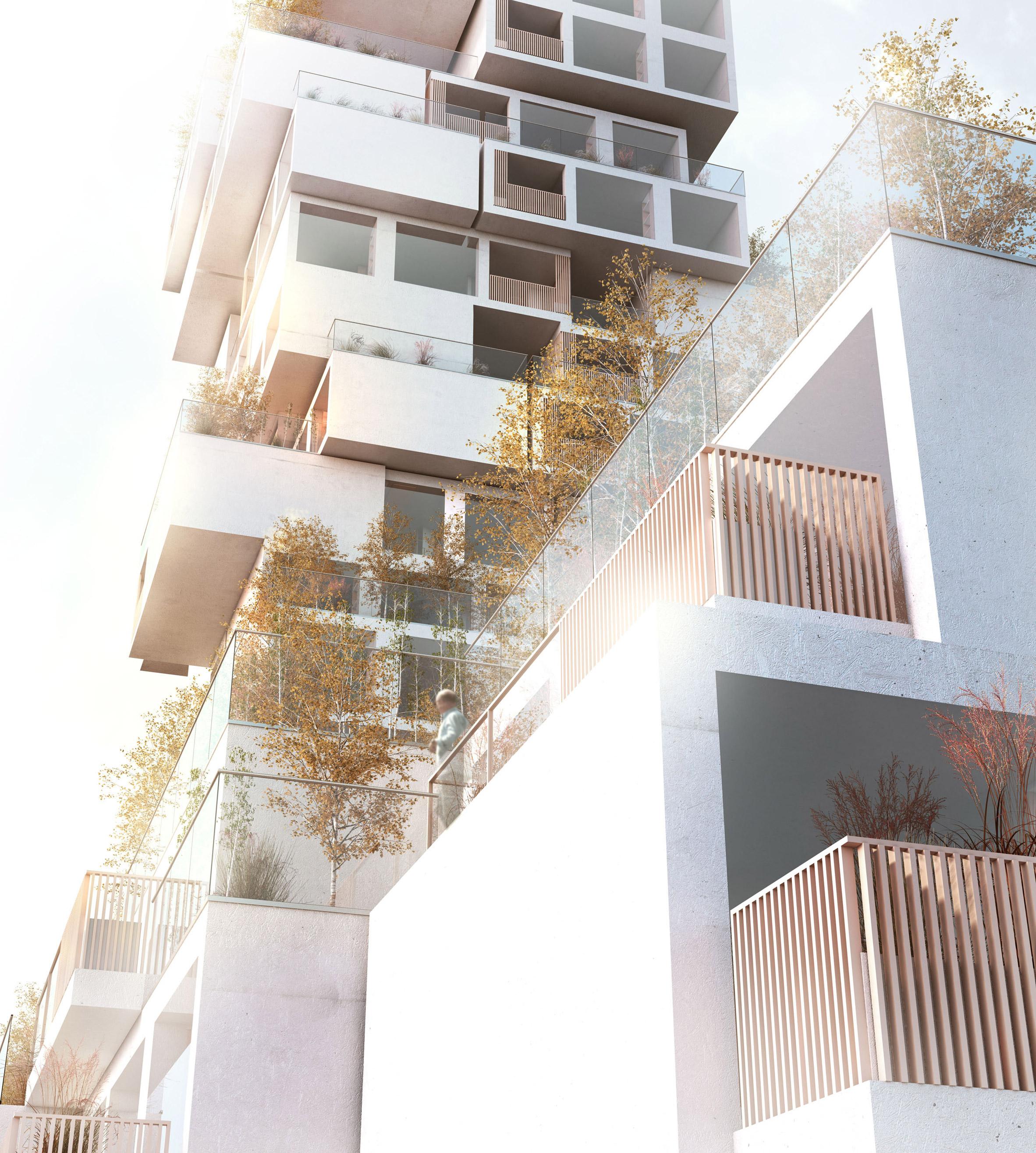 Weston Williamson proposes incremental building to combat Palestinian housing shortage