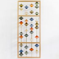Jeff Goodman Studio blows coloured glass beads for Devil's Abacus screen