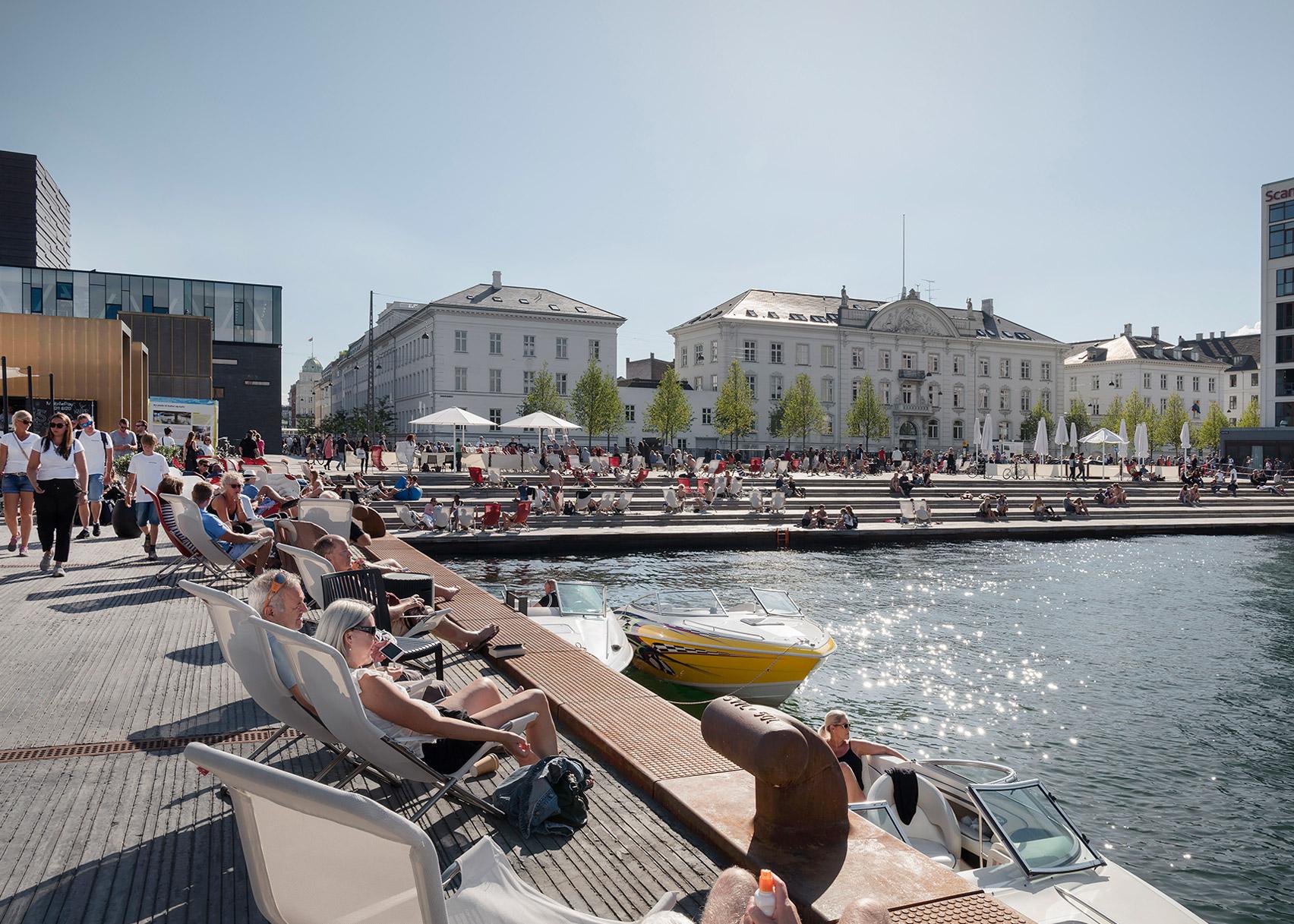 Kvæsthus Pier, Copenhagen, by Lundgaard & Tranberg Architects