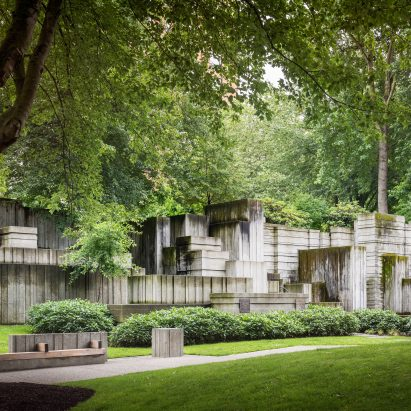 Freeway Park, Seattle, by Lawrence Halprin