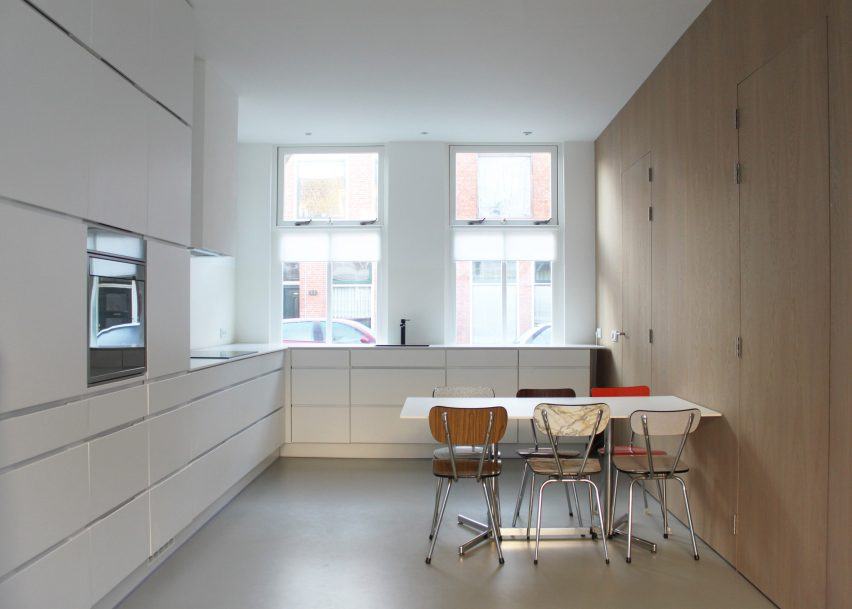 Home interiors featuring partition walls from dezeen s