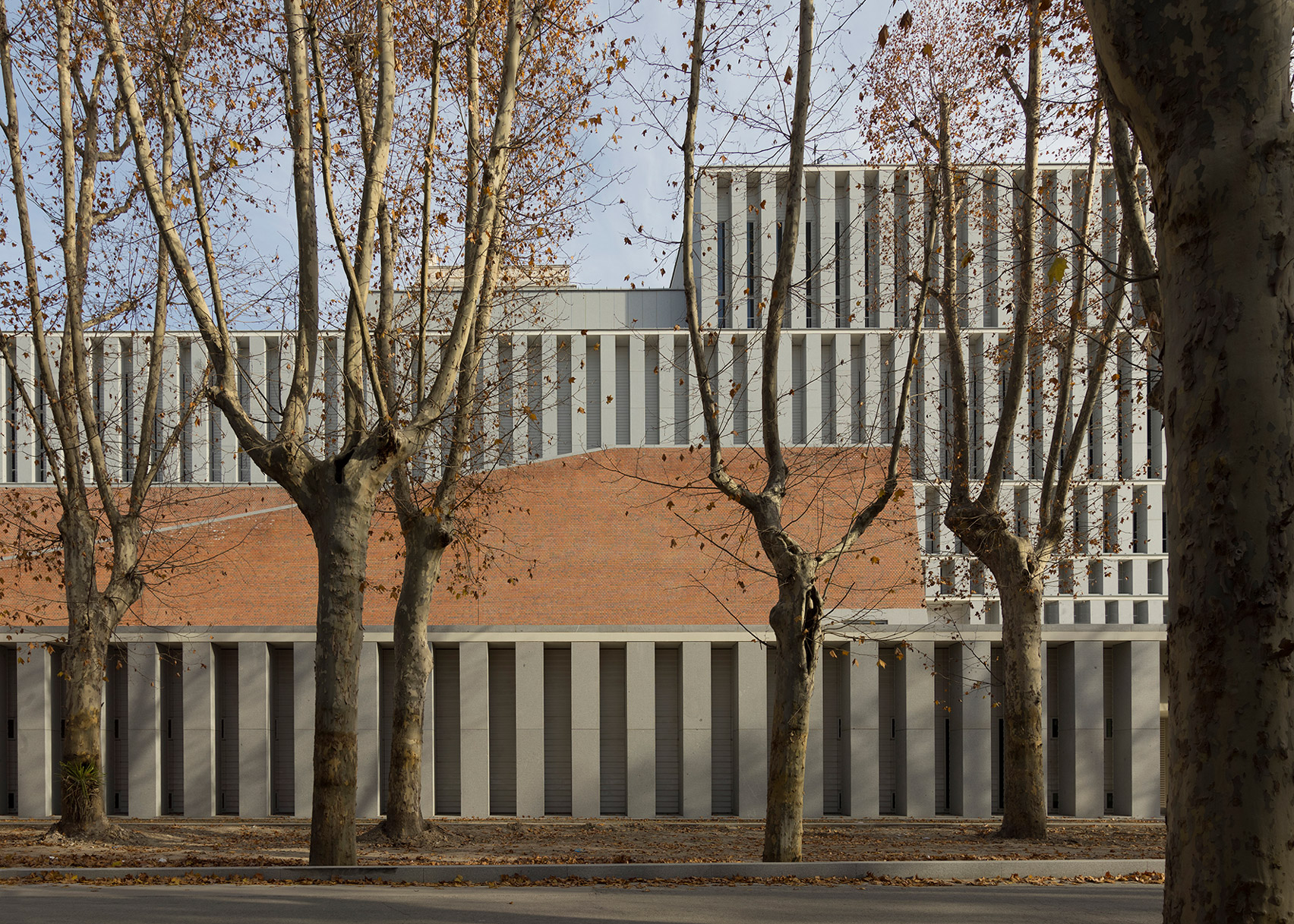 Museum of the Royal Collections, Madrid, by Emilio Tuñón Architects; Mansilla + Tuñón Arquitectos