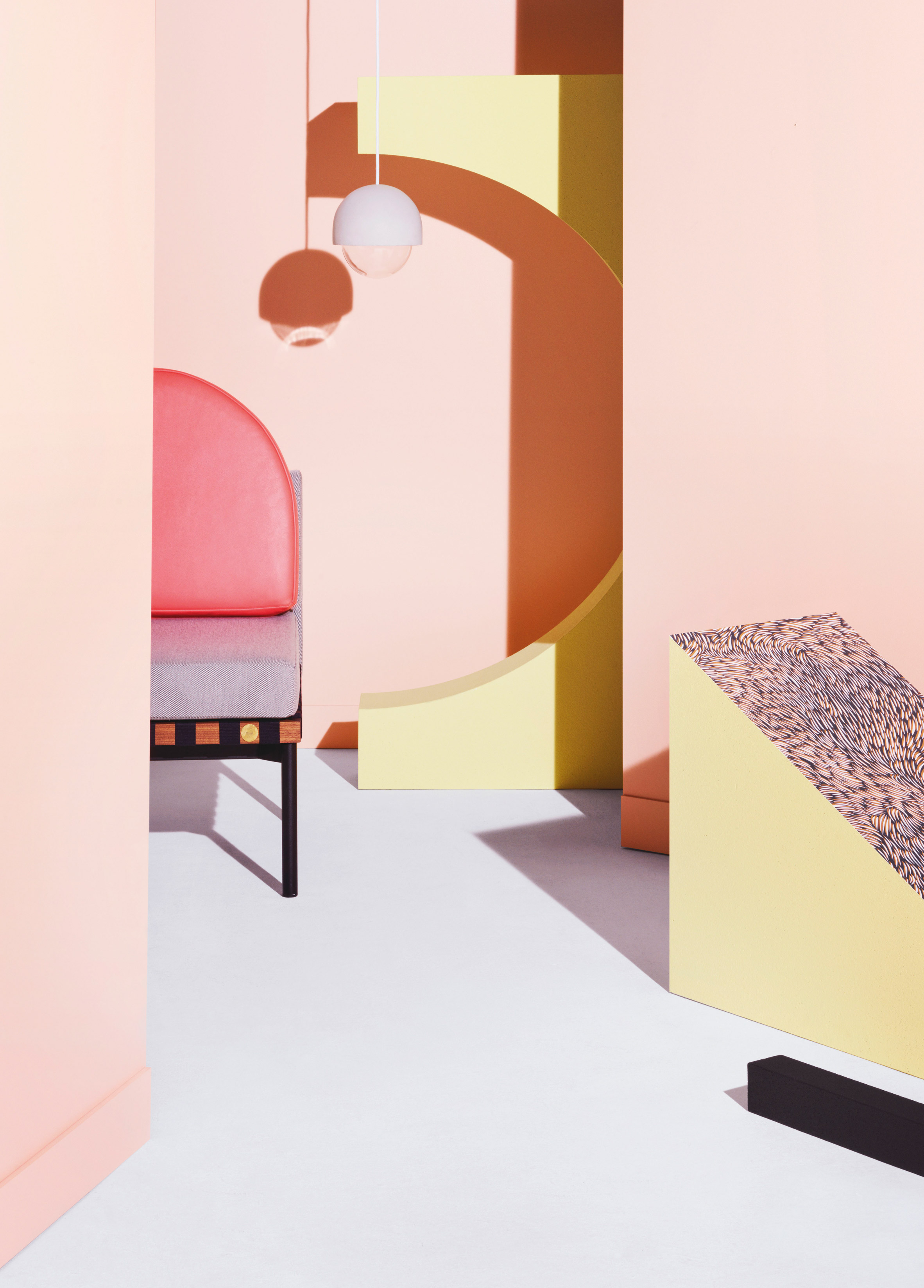 Petite Friture showcases new furniture collection in a modernist environment